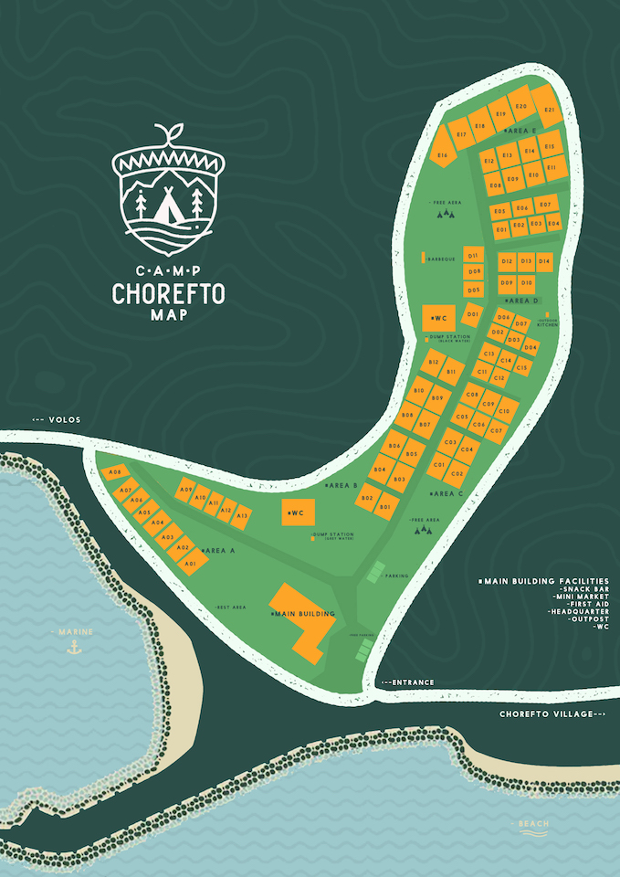 Chorefto Camp Map - Positions